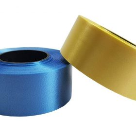 Plastic Curling Ribbon Blue and Yellow