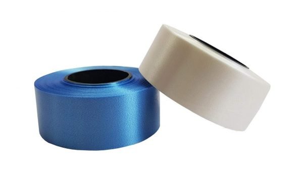 Curling Ribbon Blue and White