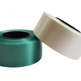 Curling Ribbon Deep Green and White